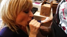 Blonde MILF loves some black cock