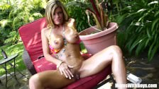 Oiled-Up Photoshoot Creampie Kristal Summers