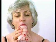 Nana loves her dildo