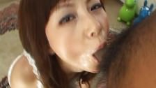 Hot Asian babe nice BJ and pussy licking